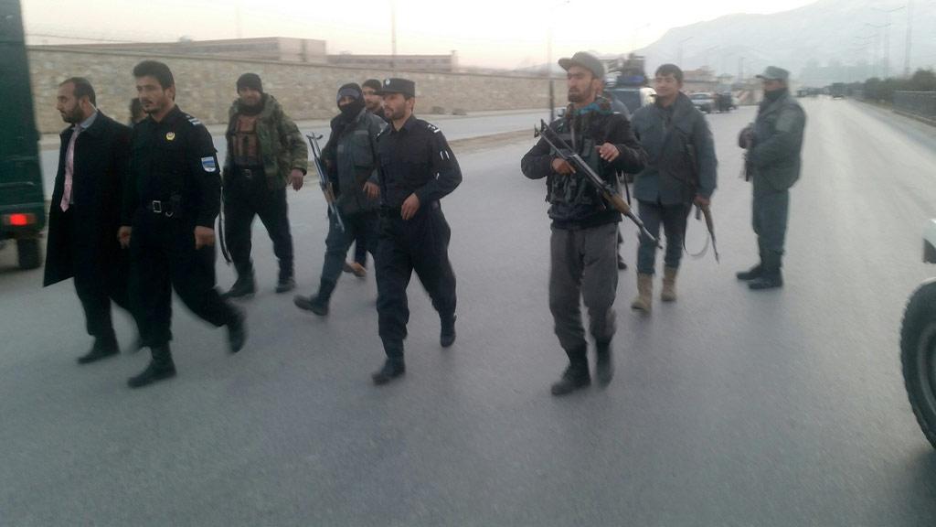Twin Taliban blasts near Afghan parliament kill 21