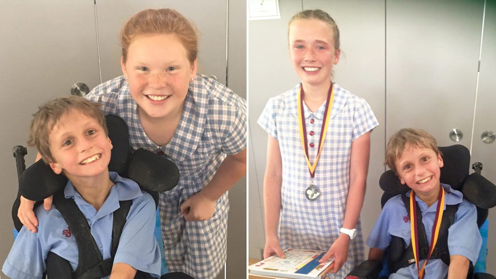 Ten-year-old NSW student with cerebral palsy elected school captain