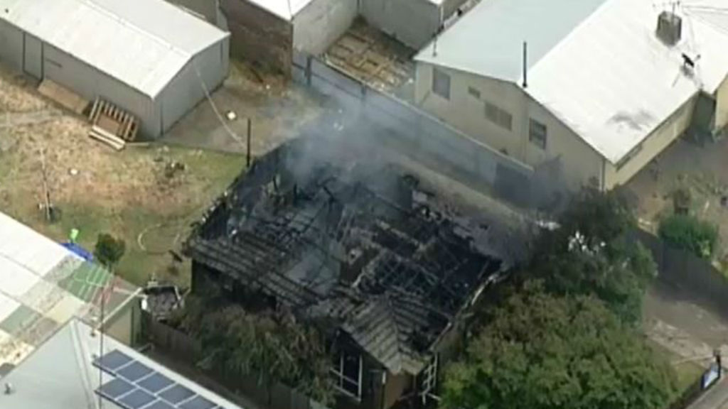 Two children burned in Geelong house fire