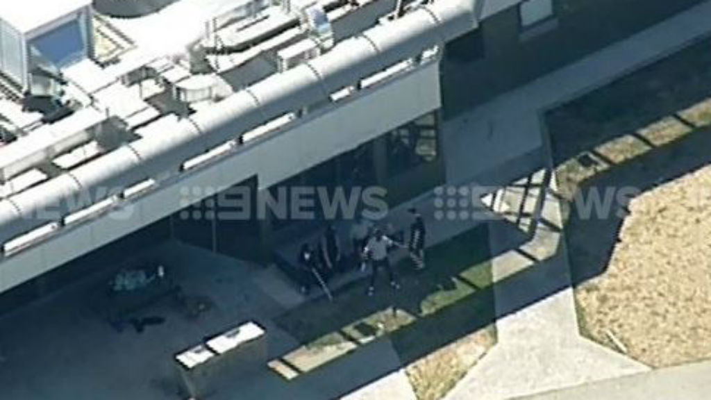Victoria Police on Thursday responded to Malsmbury Youth Justice Centre. (9NEWS)