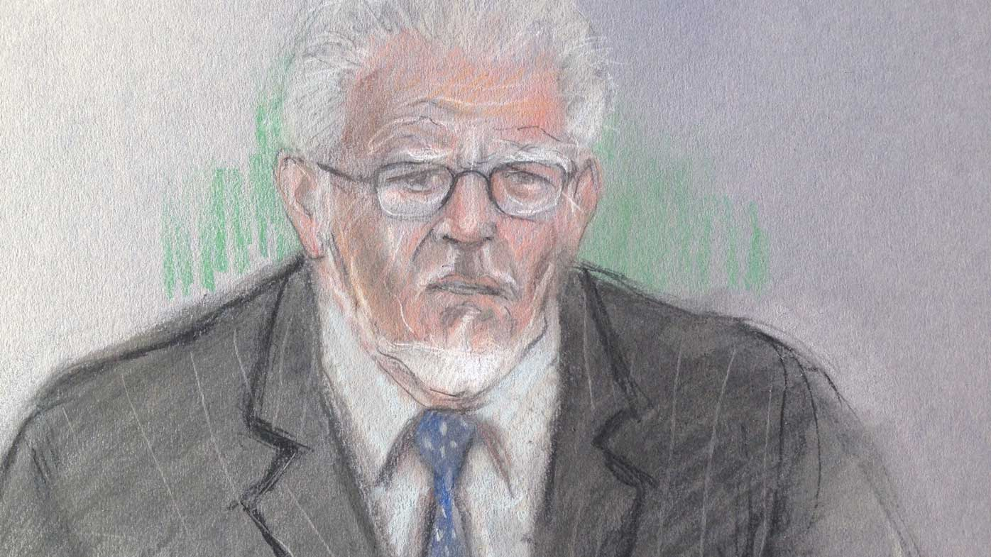 Court told Rolf Harris cuddle turns nasty