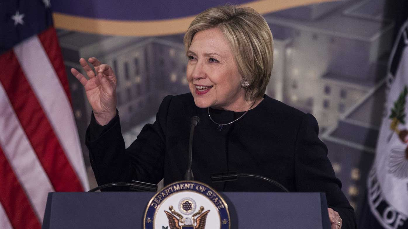 Hillary Clinton at a Washington DC event this week. (AP)