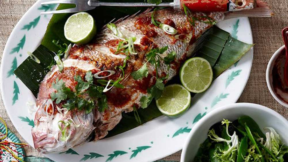 "<a href=""http://kitchen.nine.com.au/2016/05/16/13/42/whole-tamarind-snapper"" target=""_top"">Whole tamarind snapper</a> recipe"