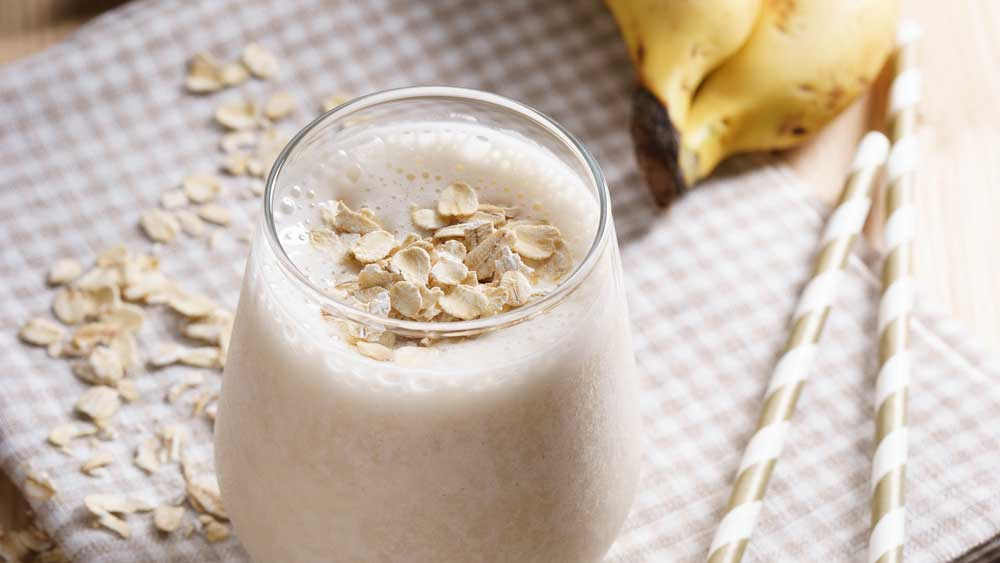 Pre-workout breakfast power smoothie by Susie Burrell