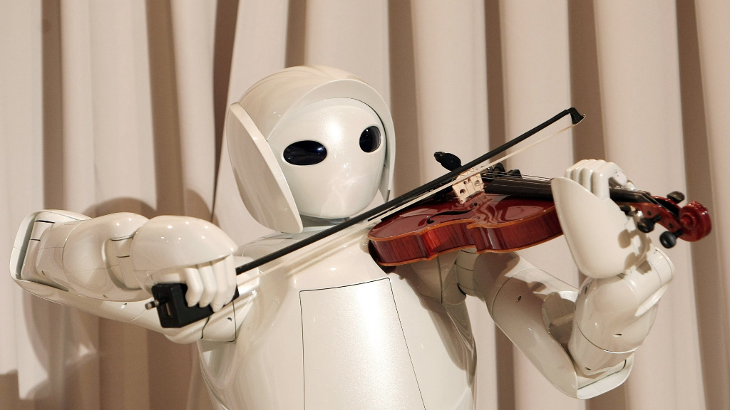 """The legislation recommends robots replacing human workers be """"taxed"""". (Getty)"""