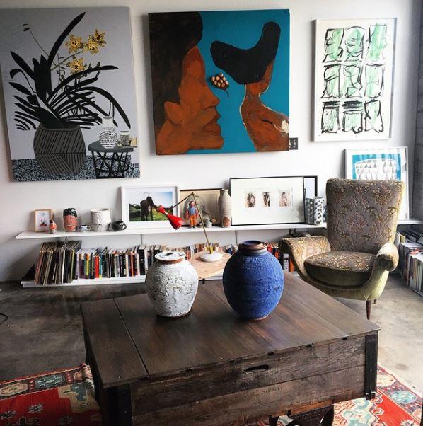 Inside Emily Ratakowski's Art-filled LA Loft