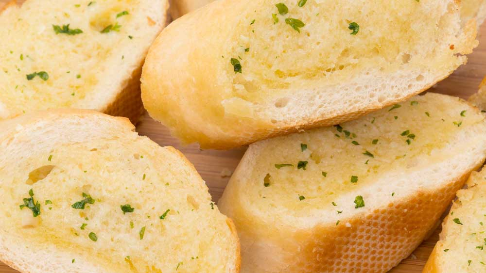 ... panic! The answer to the garlic bread shortage is to make your own