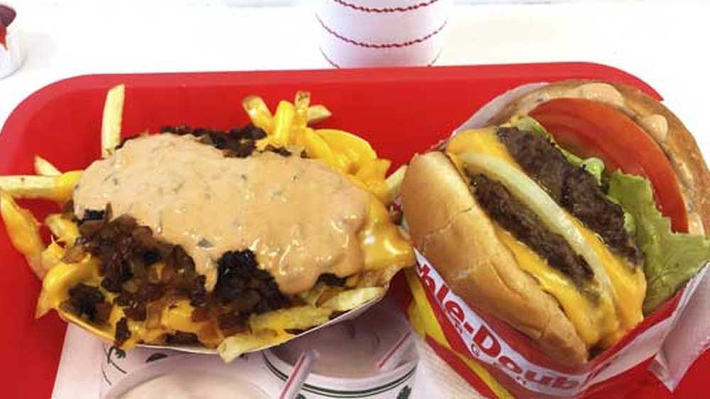 In-N-Out Burger pop-up