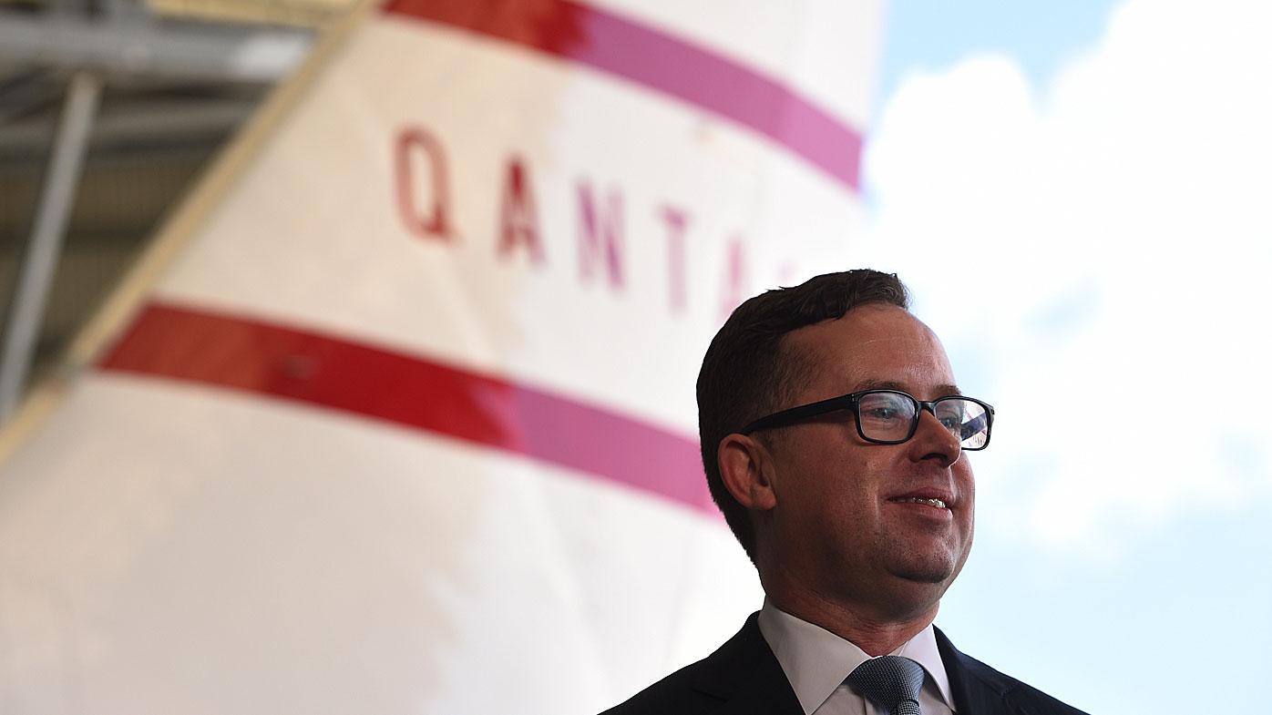 Qantas first half year results drop statutory profit by one quarter