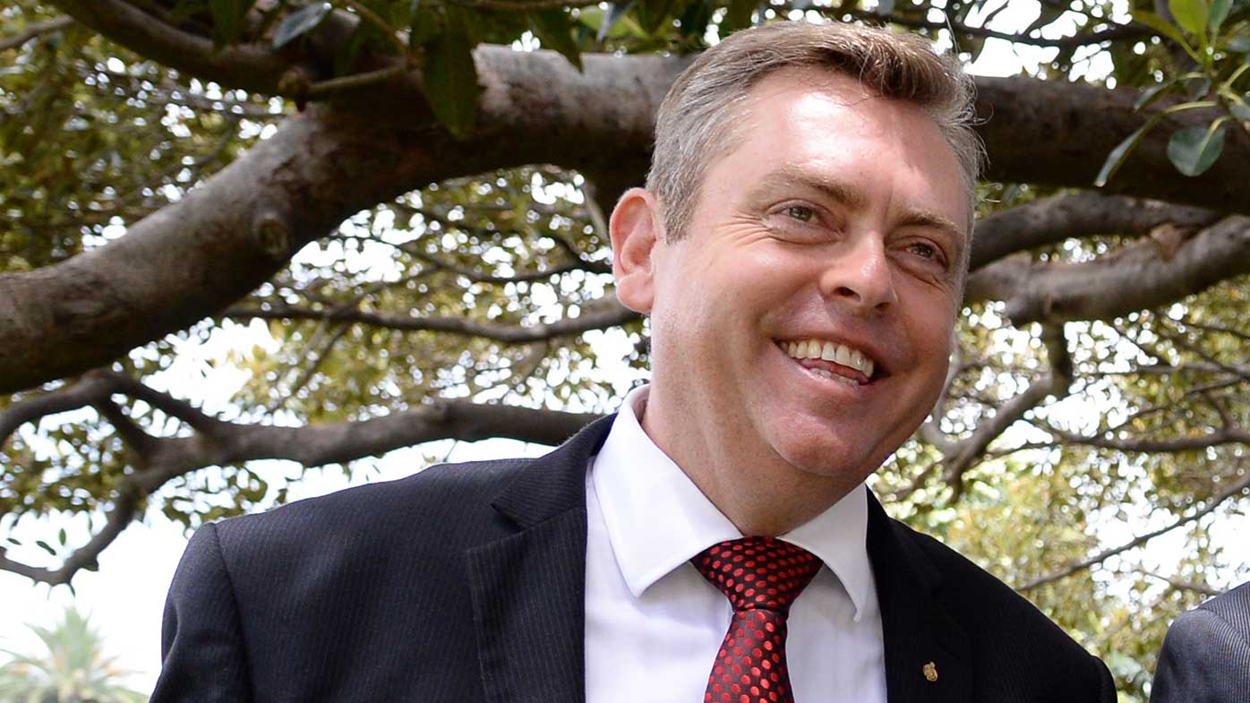 Hard-right faction leader Anthony Roberts. (AAP)
