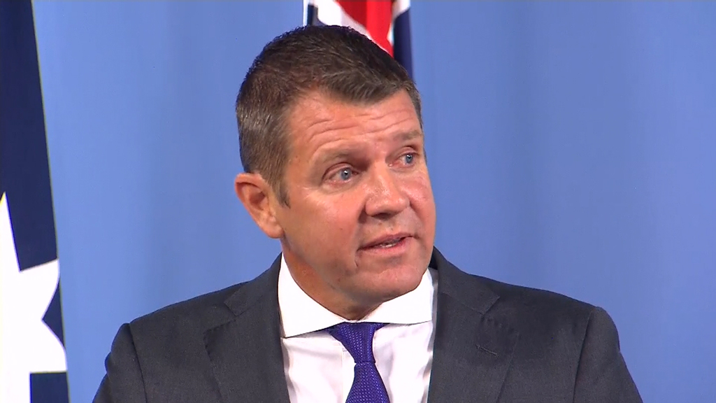 Mr Baird had to fight back tears as he explained his parents and sister have been struggling with serious health issues. (9NEWS)