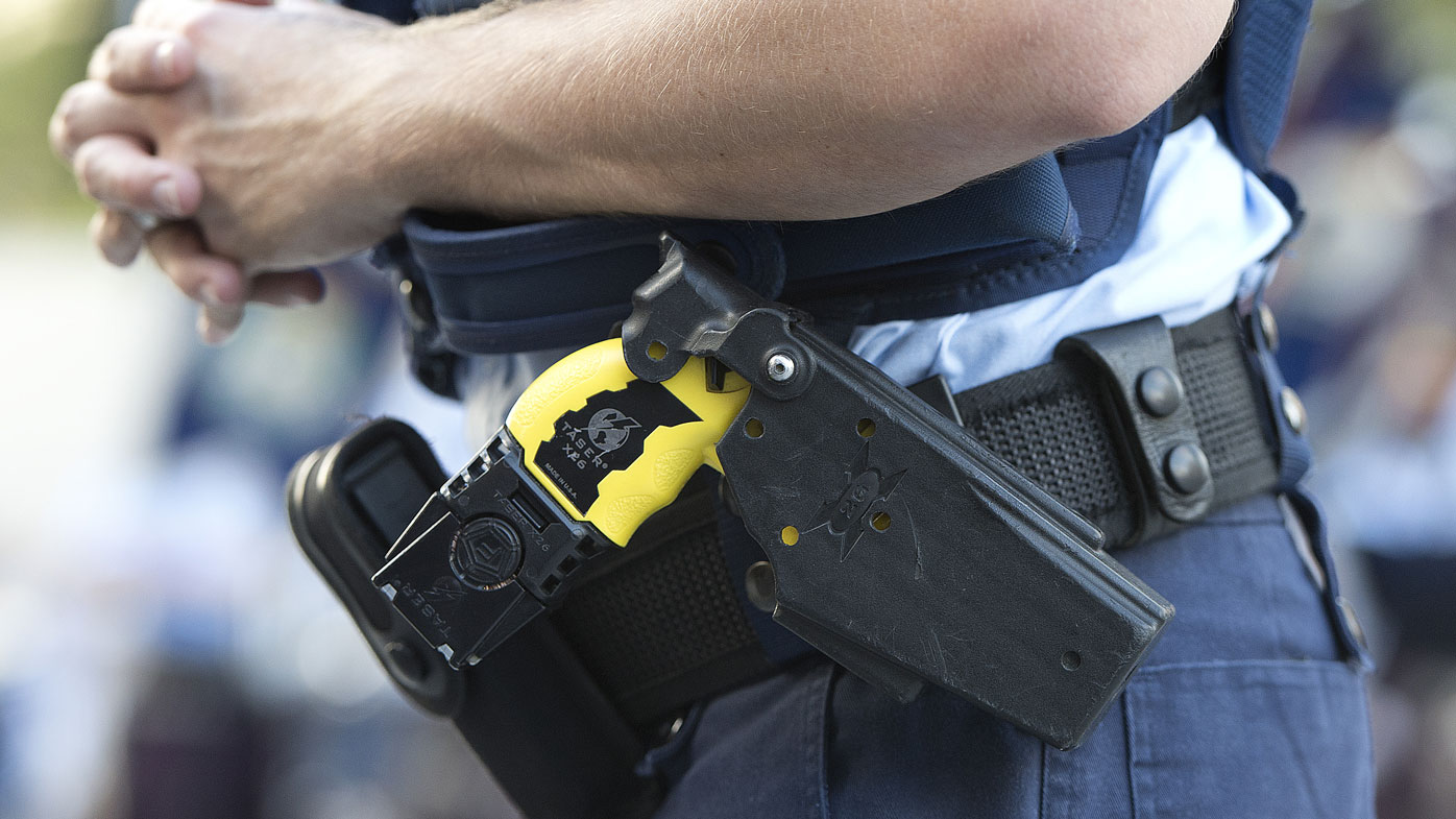 The Queensland Police Union has praised the use of Tasers. (File image)