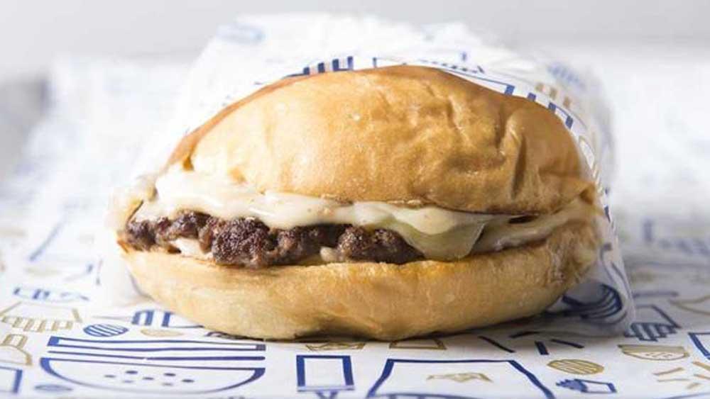 Royal Stacks single stack burger