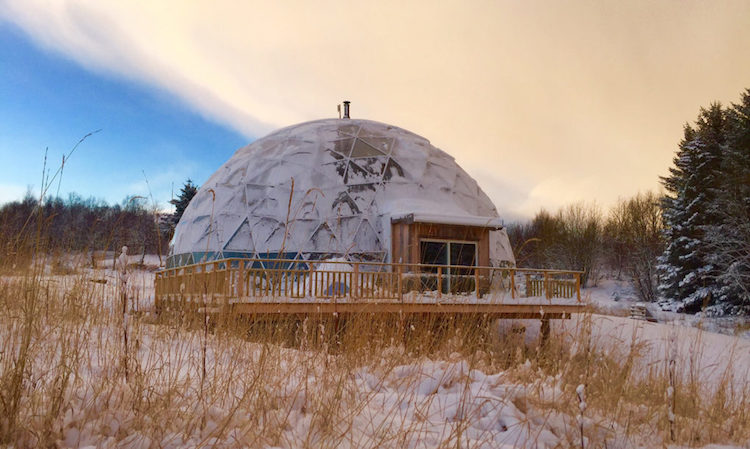 If you want to live in the Arctic Circle, build a dome around your house