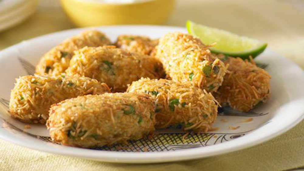 "<a href=""http://kitchen.nine.com.au/2016/05/16/17/16/coconut-fish-fingers-with-pineapple-raita"" target=""_top"">Coconut fish fingers with pineapple raita</a> recipe"