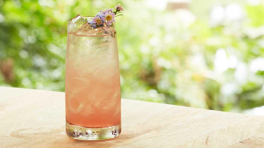 Sean Forsyth's orris root floradora cocktail. Image: Bombay Sapphire gin