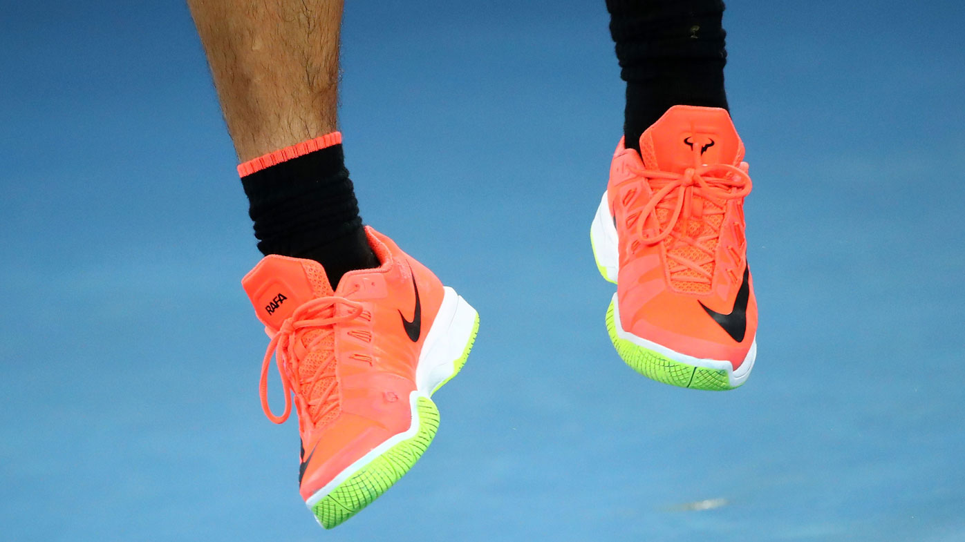 The real highlight of the Federer/Nadal final? Their shoes