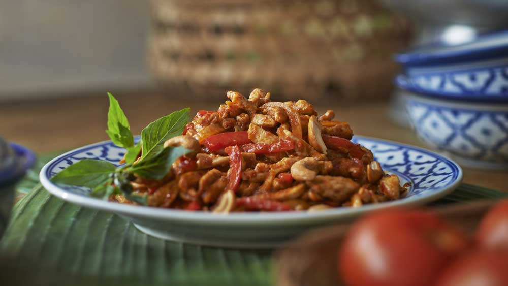 Ayam chilli jam chicken stir fry