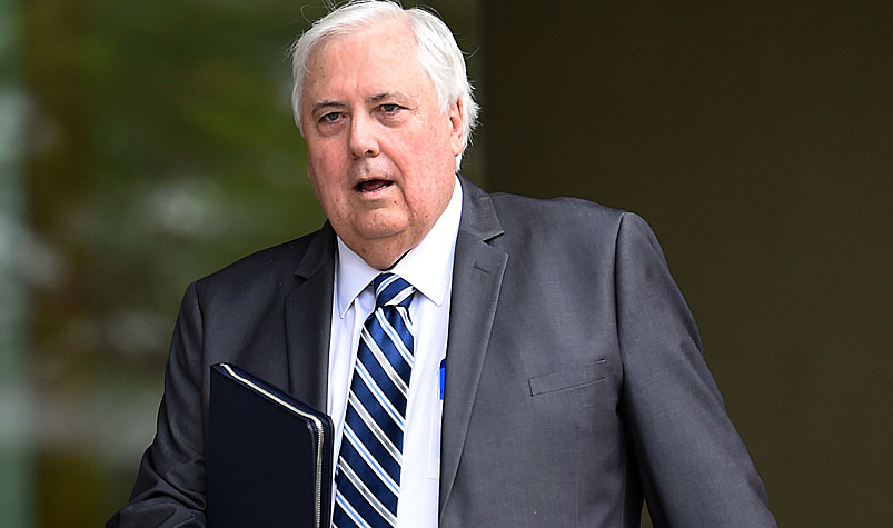 Clive Palmer's Mineralogy company gave $1.3 million, while the billionaire personally provided $121,176. (AAP)