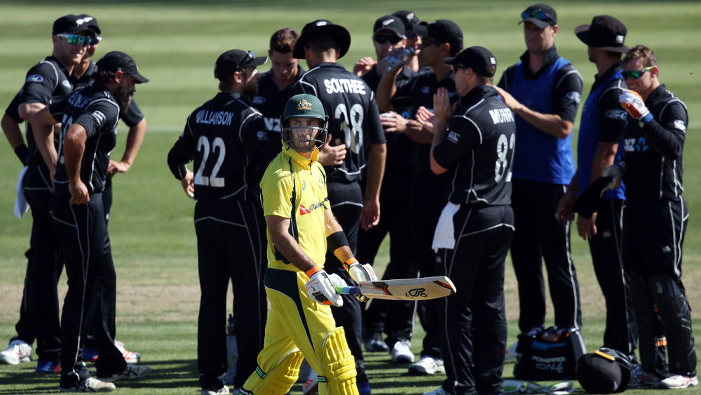 Aussies lose ODI series, maybe No.1 in NZ