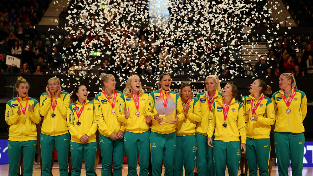 Diamonds retain Quad Series netball title