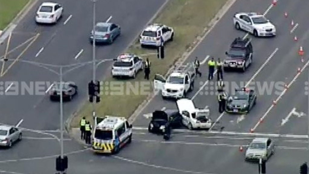 Police were called to the scene about 2.40pm. (9NEWS)