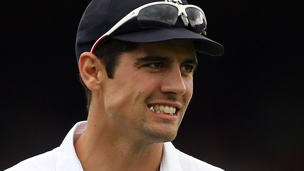 Alastair Cook. (AAP)