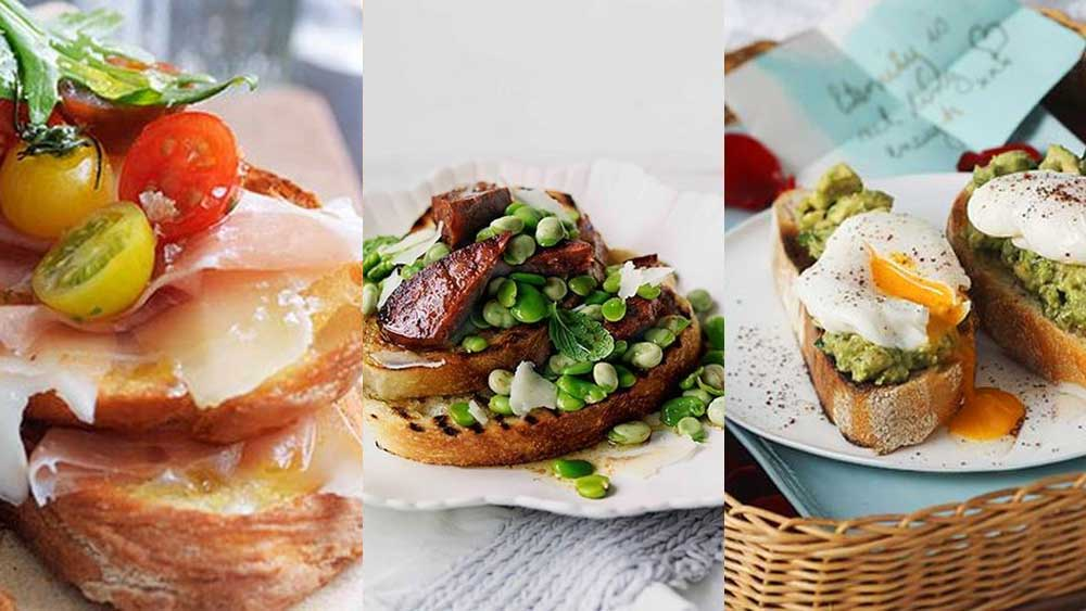 Best open sandwich recipes: bruschetta, toasties and more