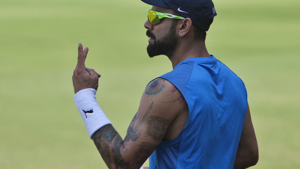 Virat Kohli will be a key wicket for Australia in the Test series against India. (AAP)
