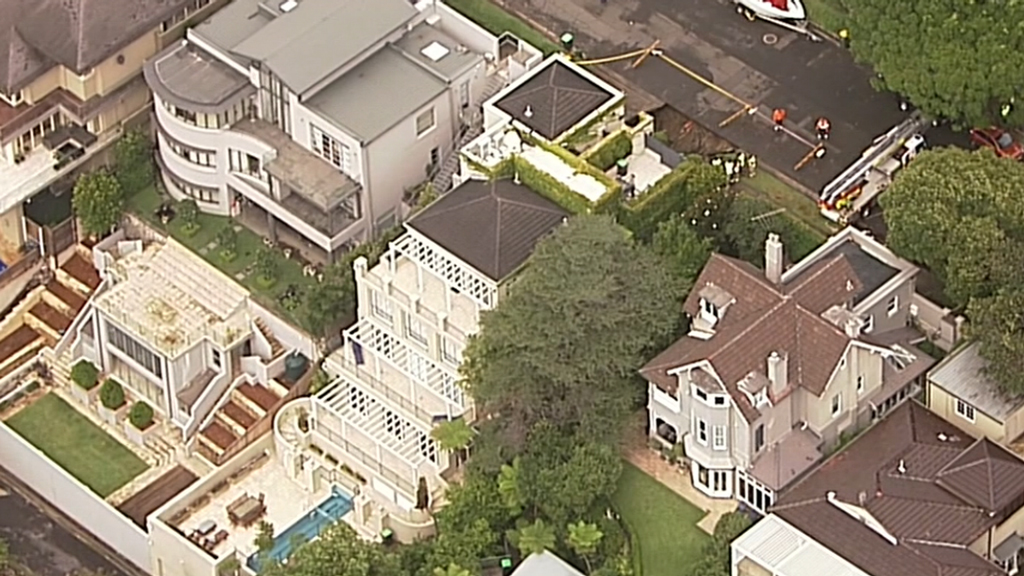 Point Piper is an exclusive Sydney suburb. (9NEWS)