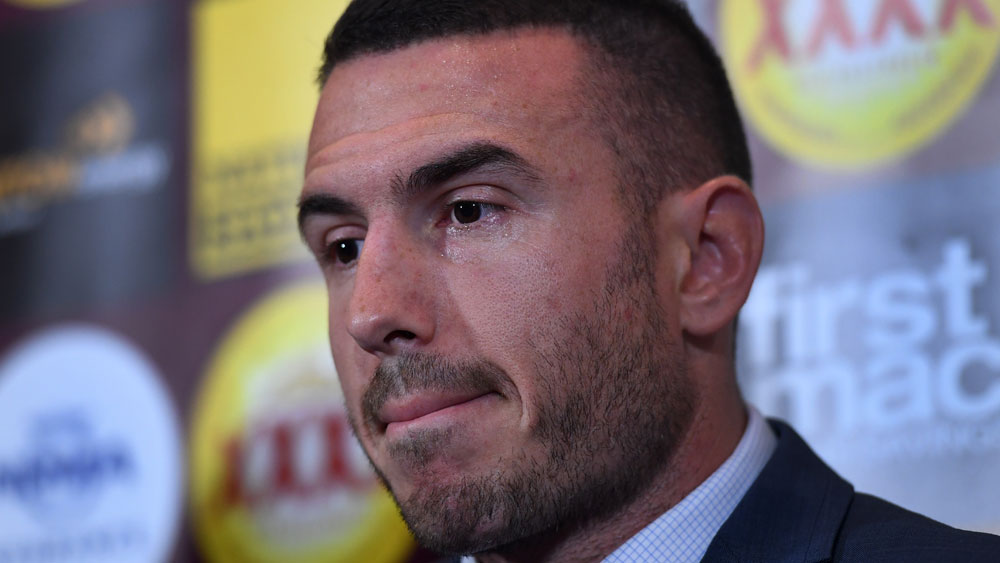 Darius Boyd has been named the new captain of the Brisbane Broncos. (AAP)