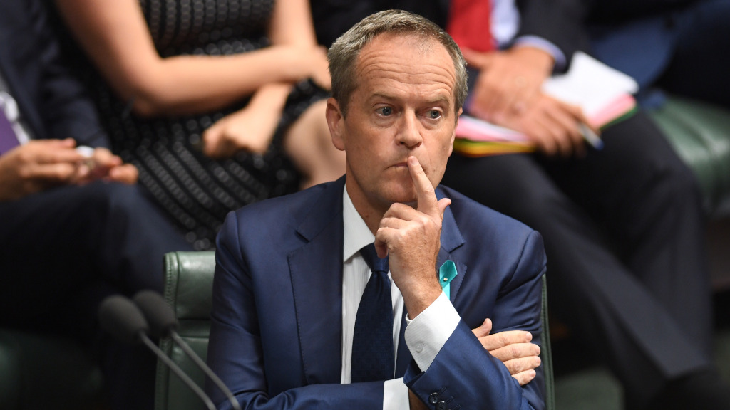 "Opposition leader Bill Shorten has said he ""feels sorry"" for Malcolm Turnbull following the prime minister's stinging personal attack. (AAP)"