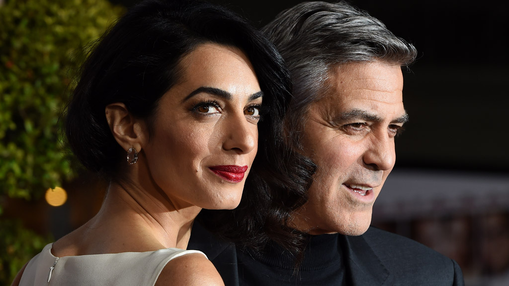 Human rights lawyer Amal Clooney, wife of George Clooney, reportedly pregnant with twins