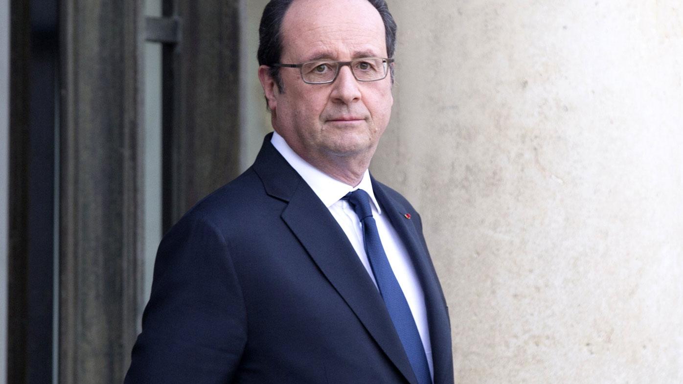 French President Francois Hollande spoke to Mr Trump on January 28.