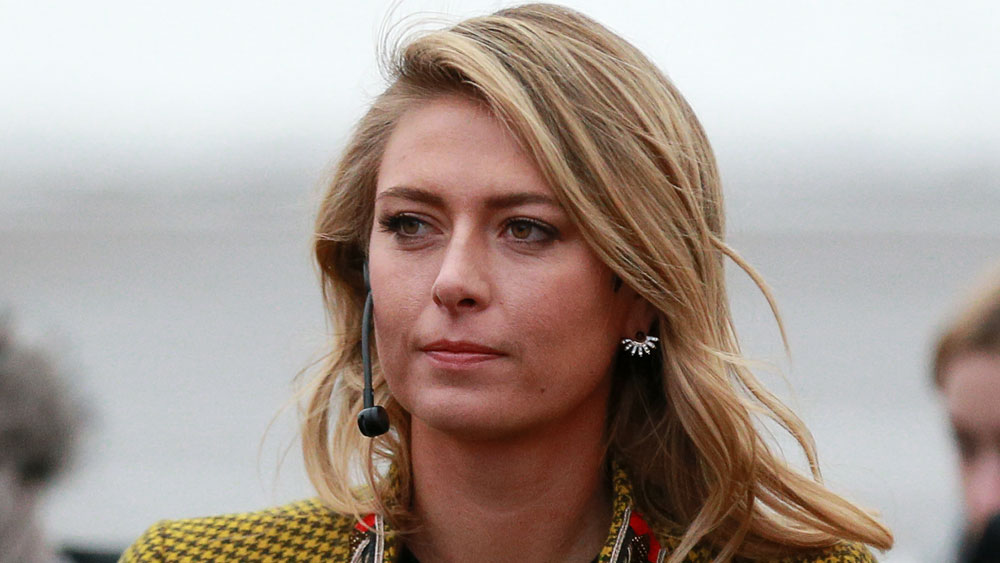 Maria Sharapova will return from a doping ban to the Madrid Masters in May. (AFP)