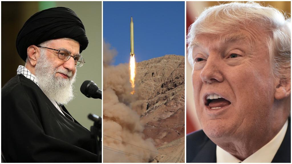 Iran reportedly test-fires short-range missile days after Trump's warning