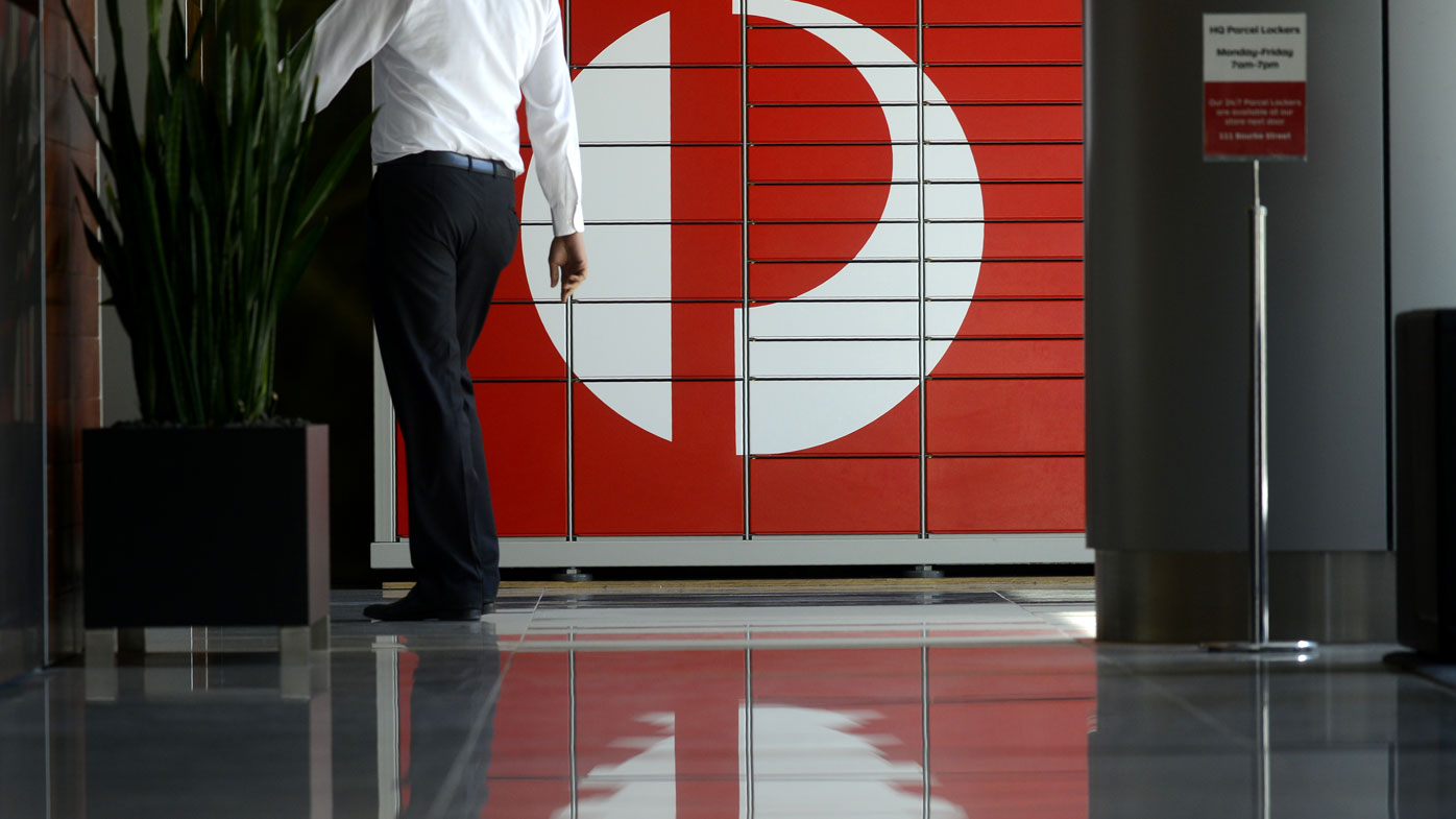 Parcel pickup for Aust Post as Fahour goes