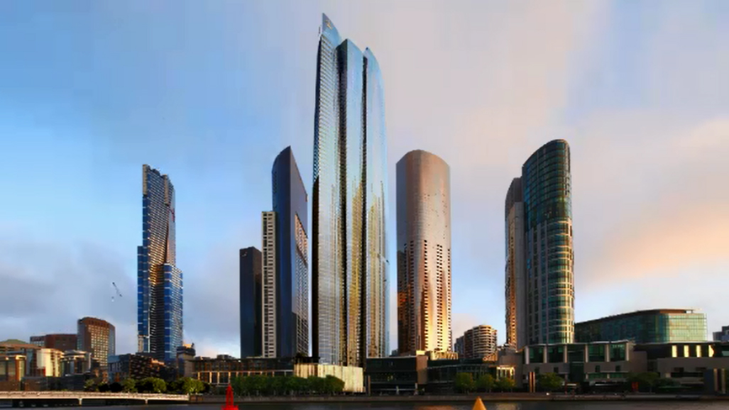 Crown approved to build Melbourne's tallest tower