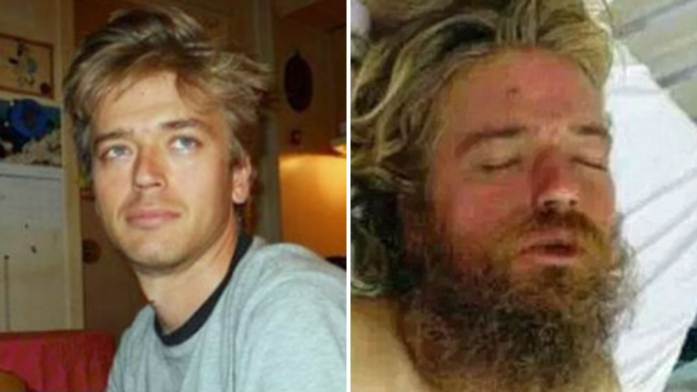 Anton Pilipa before and after he went missing.