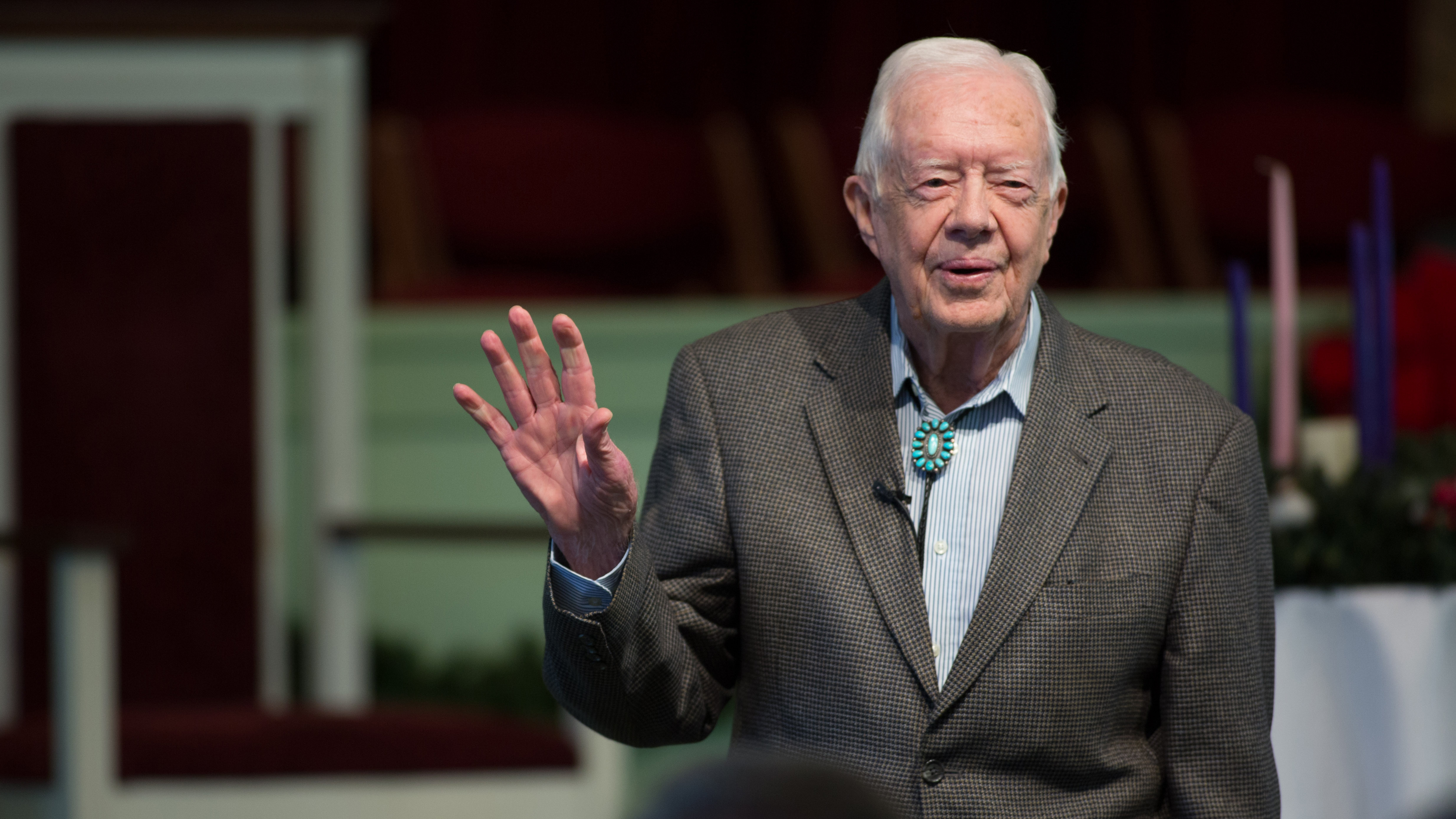 Former US President Jimmy Carter says renewable energy could help Donald Trump create jobs