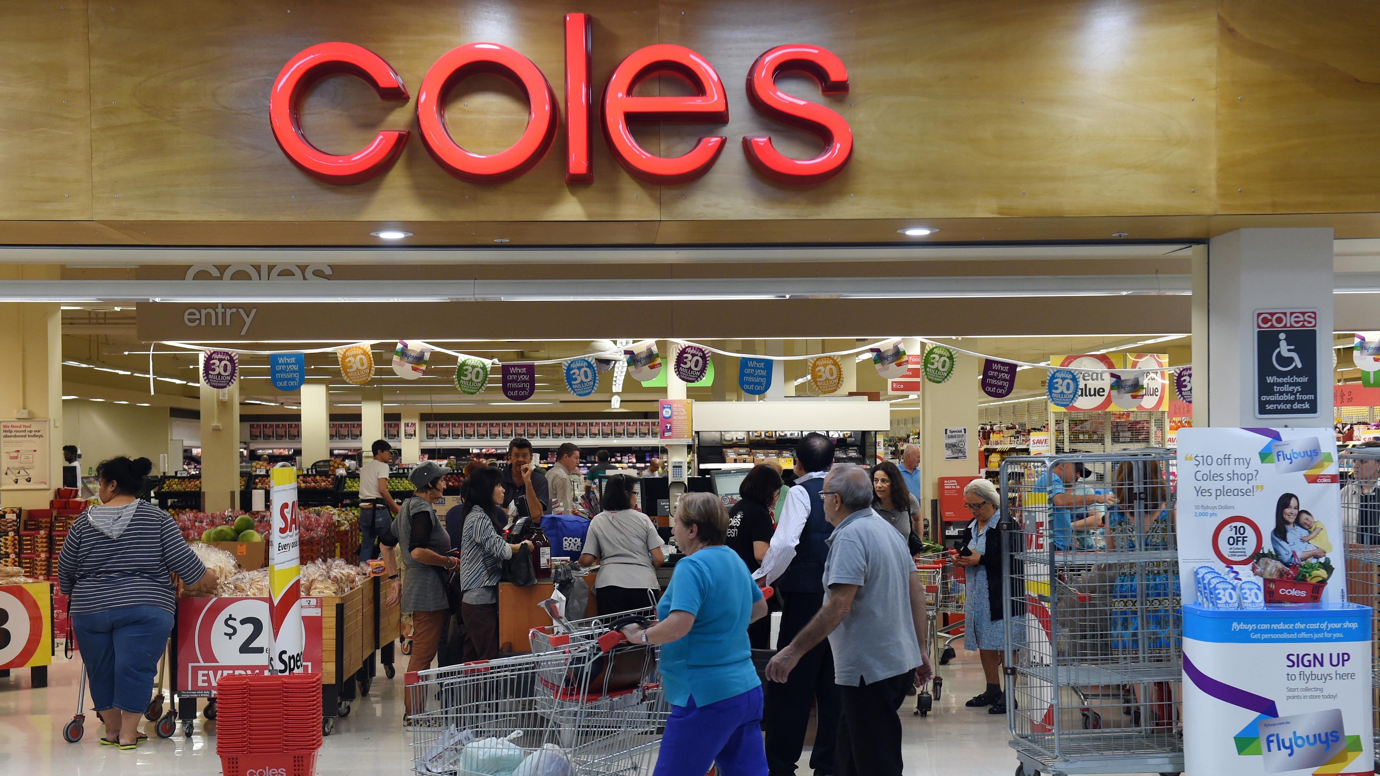 Coles limits self-serve checkout to 12 items