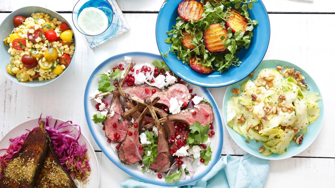Jacqueline Alwill's healthy summer lamb menu plan for BeefandLamb.com.au