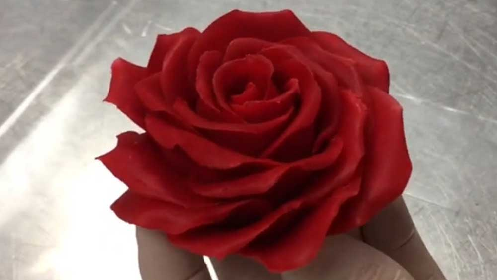Amaury Guichon's edible rose