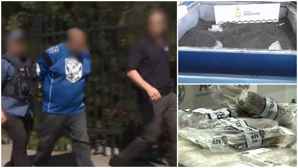 Hi-tech Melbourne operation seizes $186m of drugs hidden in charcoal