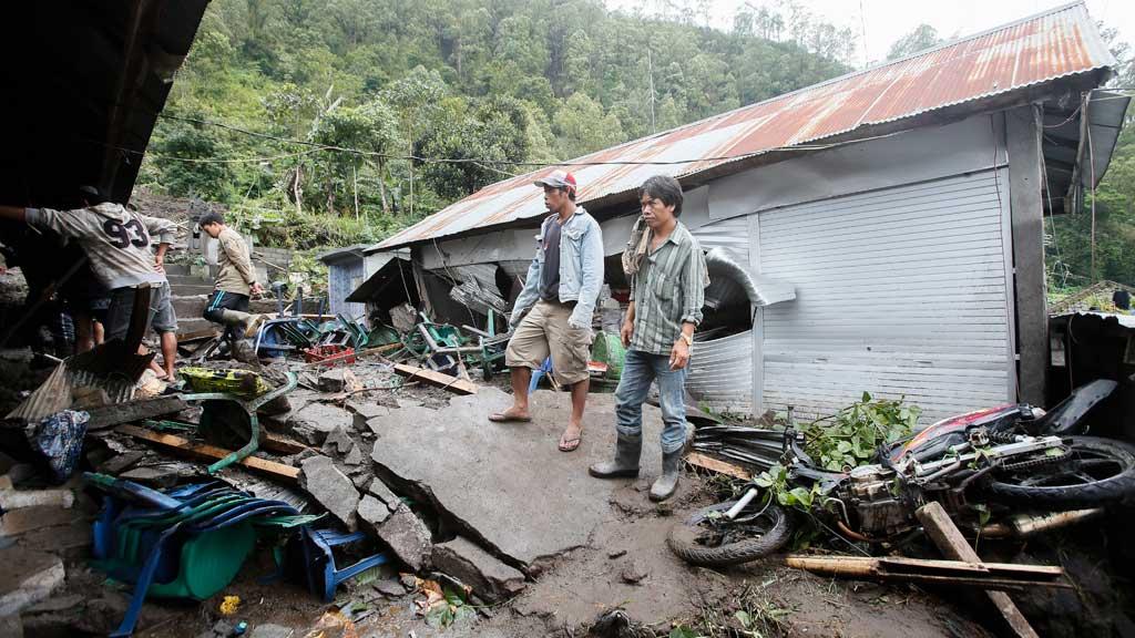 Three children among twelve killed in Bali landslide