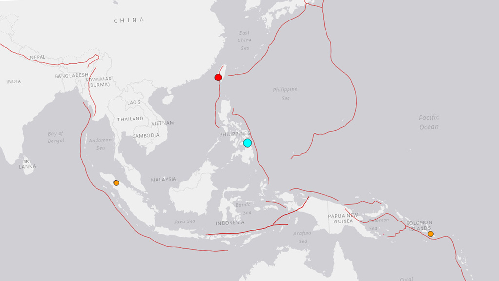 At least three dead after 6.5 magnitude earthquake strikes the Philippines