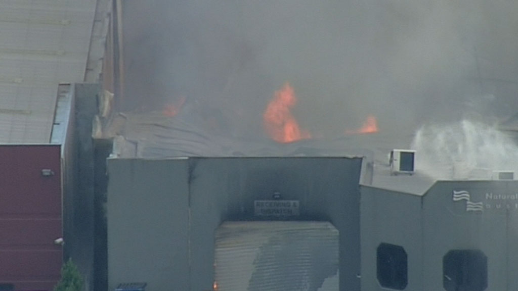 Fire crews get Melbourne factory blaze under control