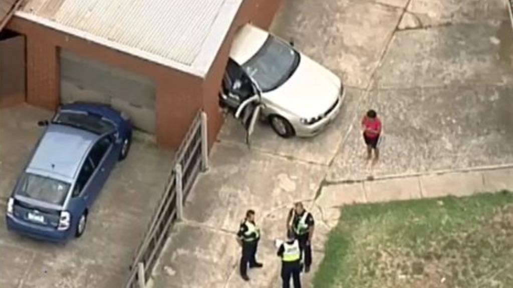 Man taken to hospital after car crashes into house in Melbourne