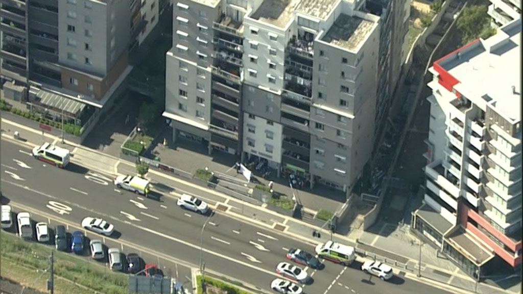 Two children injured in fall from third-floor Sydney window