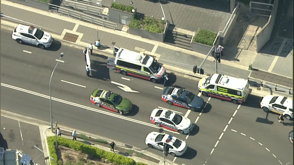 Emergency services have been called to a Bankstown apartment block. (9NEWS)